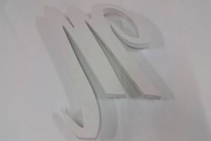 lettre relief decoupe pvc 19 mm